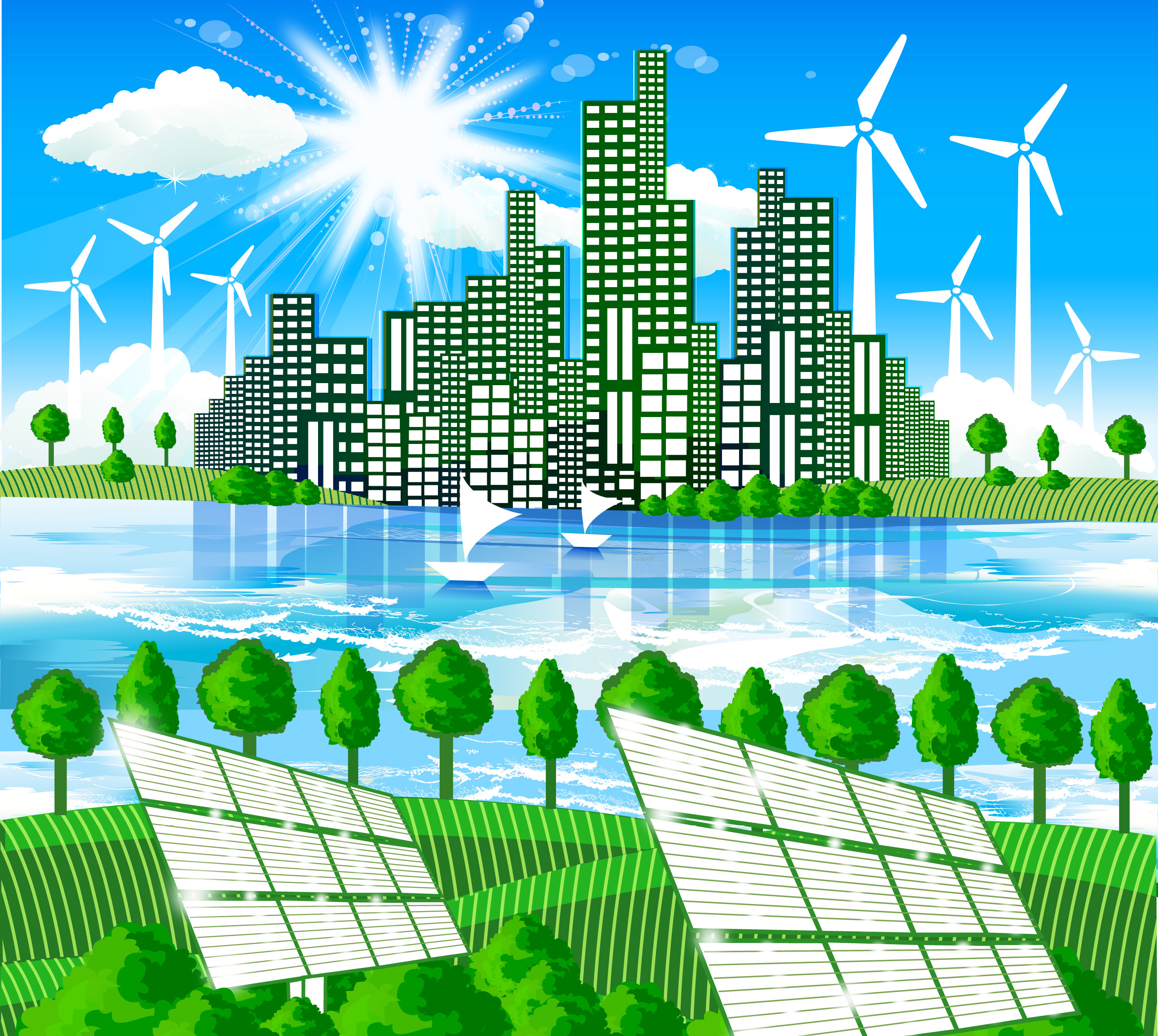 energy devices for sustainable urban environment