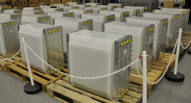 A flow battery 'competitive with the LG Chems and Samsungs of this