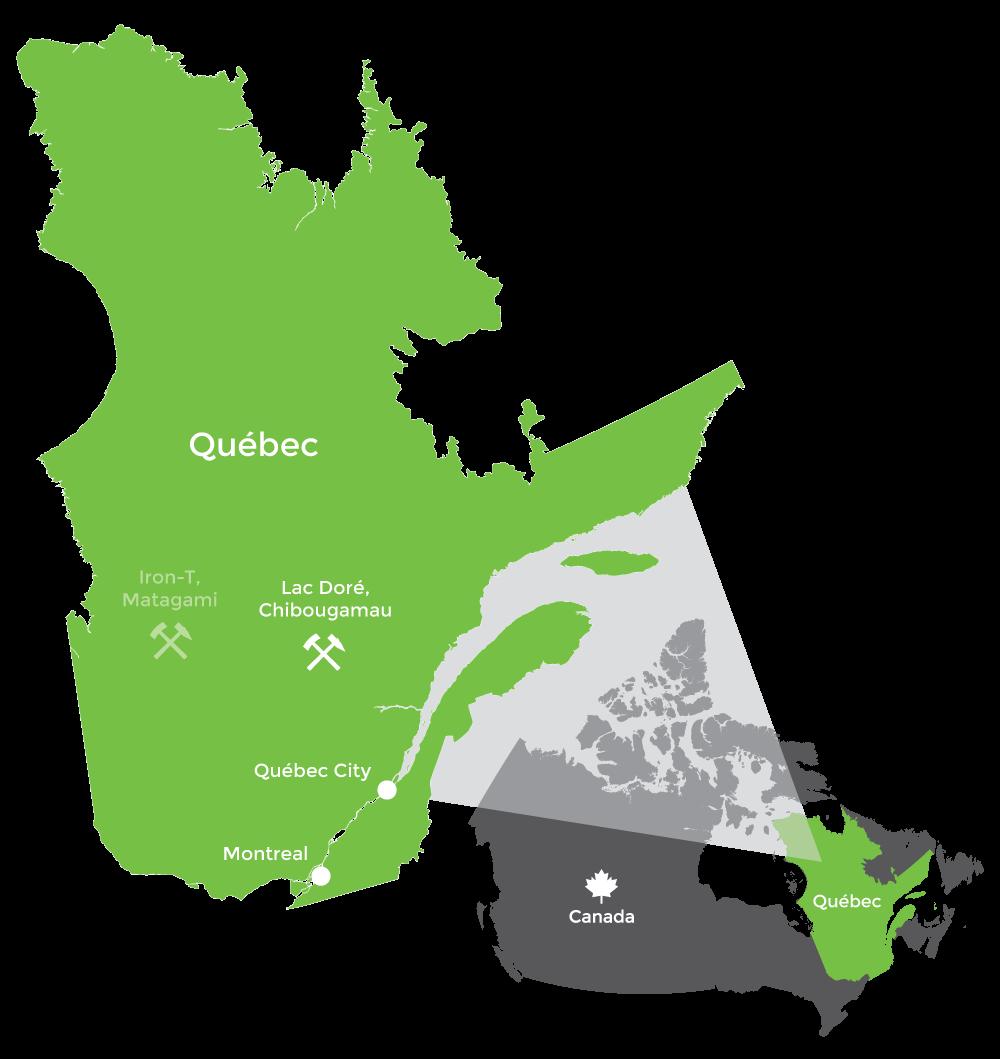 Québec Map