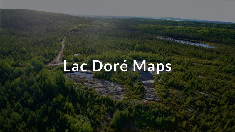 Lac Doré Maps