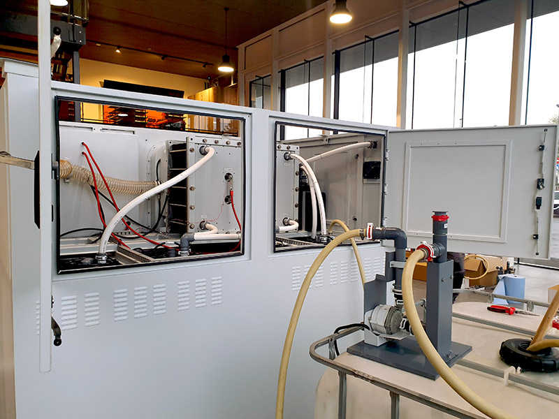 Inside Of Vanadium Flow Battery